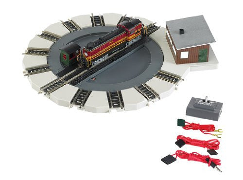 N Bachmann Motorized Turntable Train Car