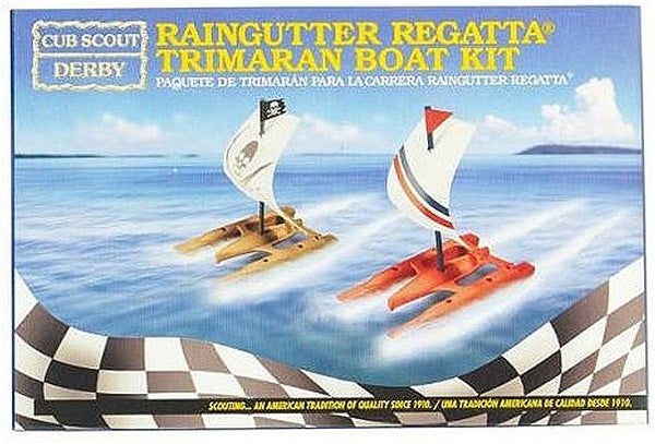 Raingutter Regatta - Trimaran