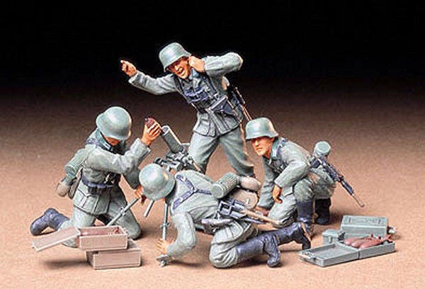 1:35 GER Infantry Mortar Team