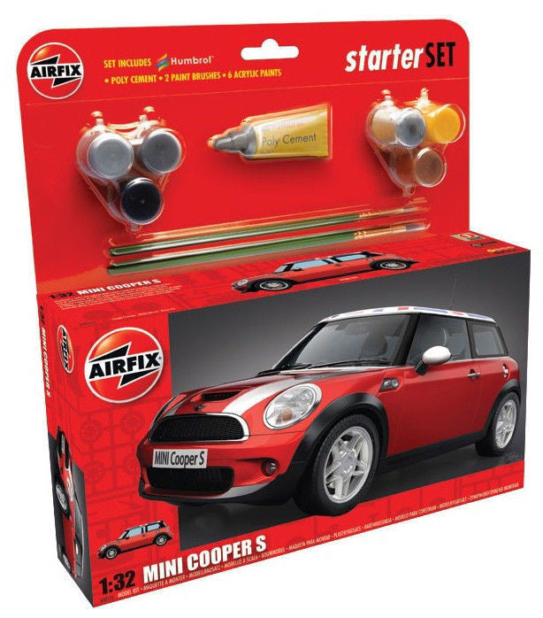 1:32 BMW Mini Cooper S Set - A50125