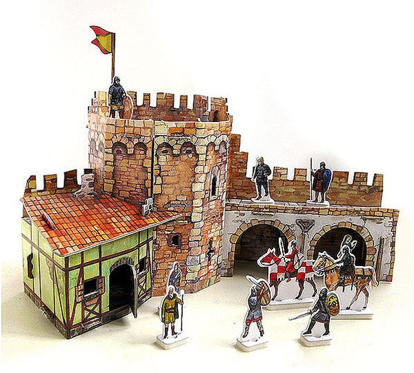 Medieval Corner Tower Kit