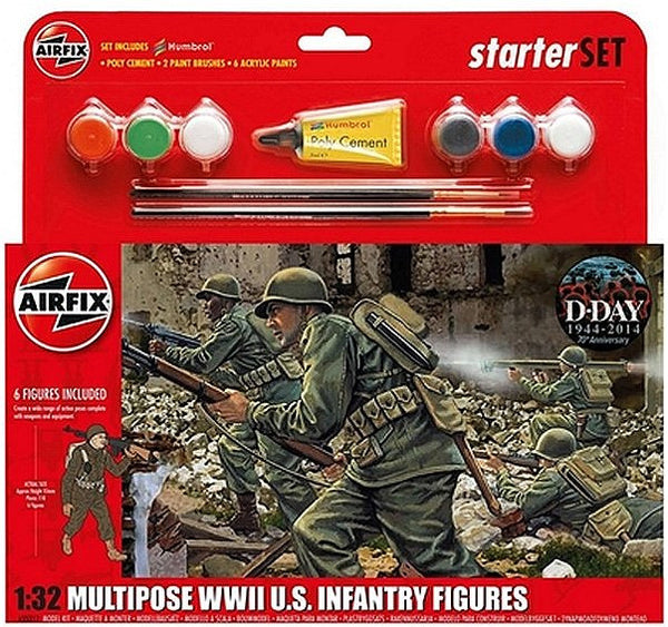 1:32 USA WWII Infantry Set - A55212