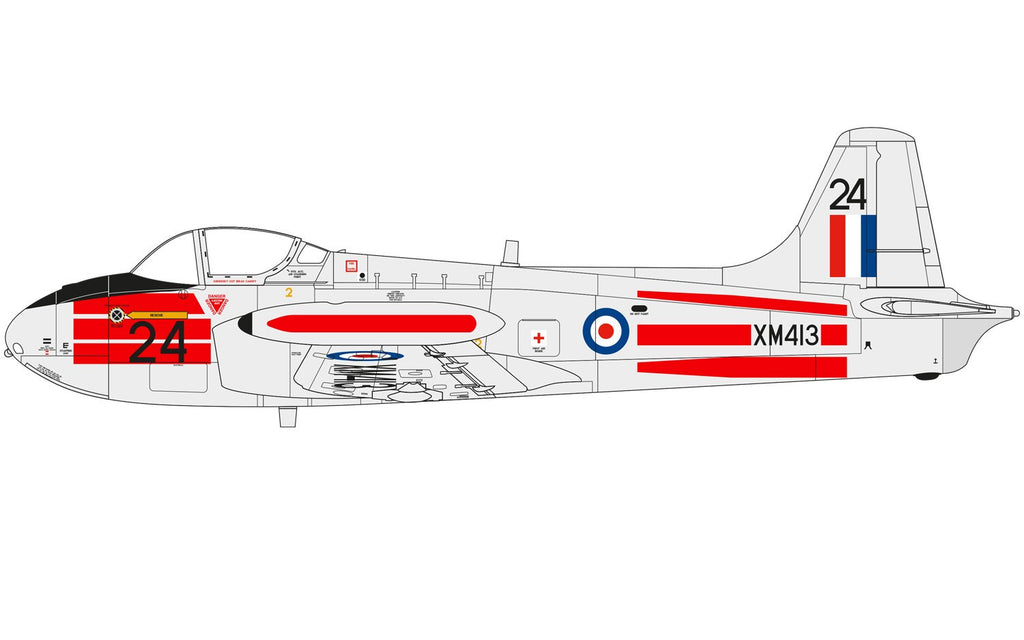 1:72 Hunting Percival Jet Provost T.3/T.3a - A02103