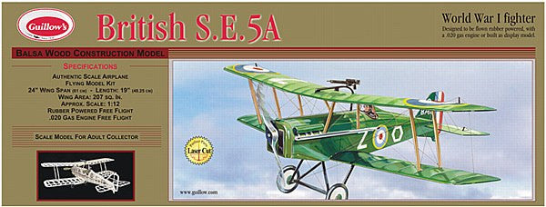 1:14 UK S.E.5A Balsa