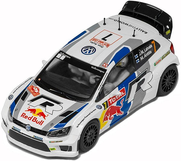 VW Polo WRC Red Bull w/lights - C3524
