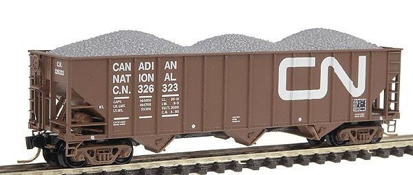 N 100-Ton 3-Bay Hopper CN