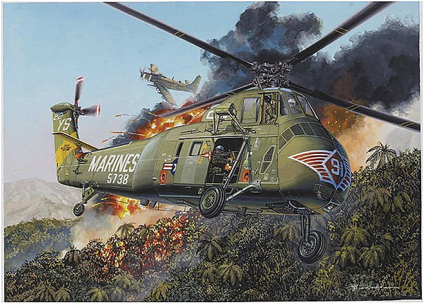 1:48 USMC H-34 Helicopter