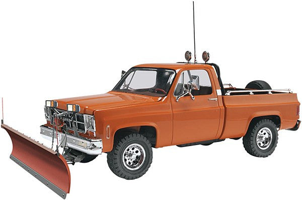 1:25 GMC Pickup w/Snow Plow