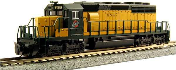N SD40-2 C&NW #6847