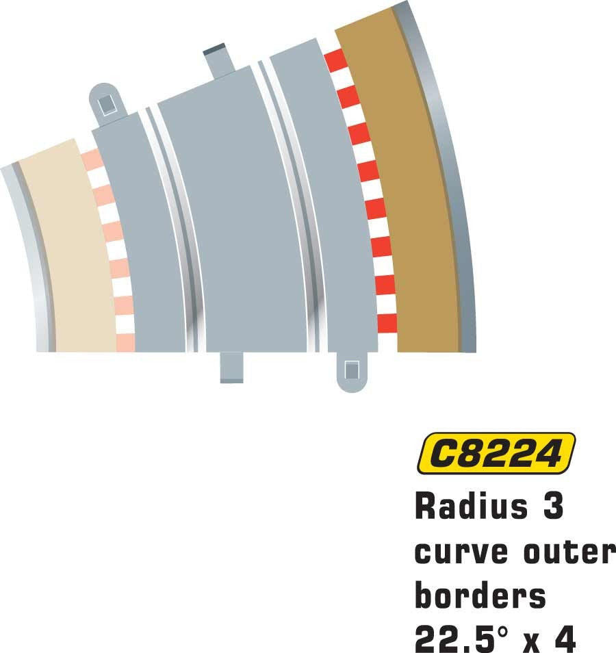 R3 Curve Outer Border - C8224