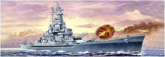 1:700 USS Massachusetts BB-59