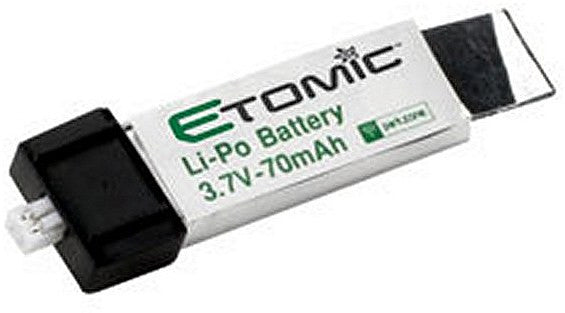 3.7v 70mAhLiPo Battery