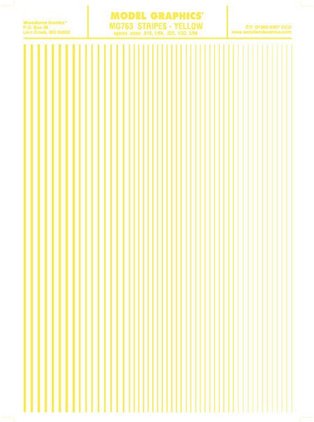 Decals Stripes Yellow