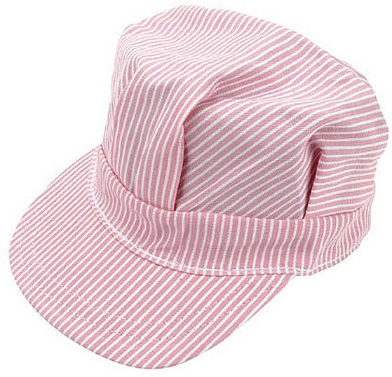 Pink Engineer Cap Adult Size