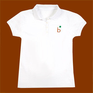 Brownie Polo - White