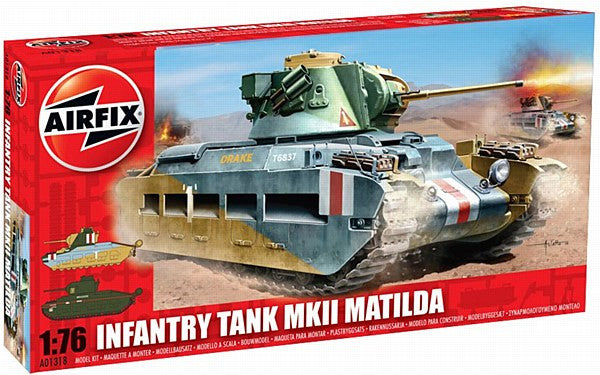 1:76 UK Matilda Tank -  A01318