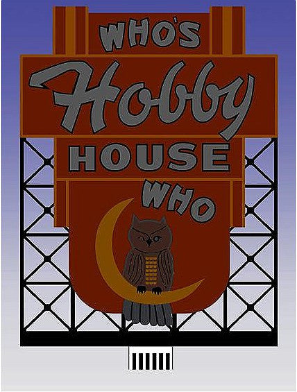 HO/N Who's Hobby Billboard