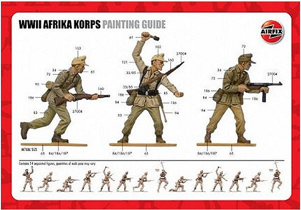 1:32 GER WWII Afrika Corps - A02708