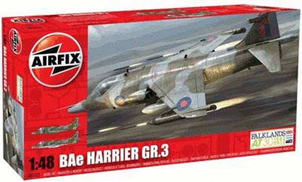 1:48 UK BAe Harrier GR.3 -  A05102