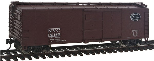 HO 40' Steel Boxcar NYC