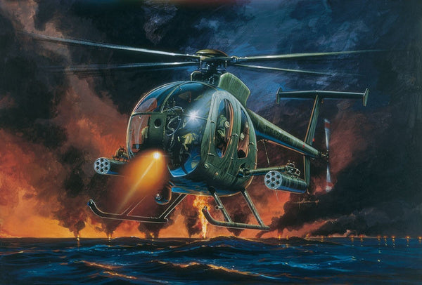1:72 USA AH-6 Night Fox
