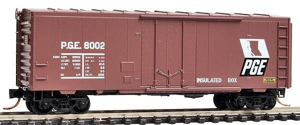 N 40' Plug Door Boxcar PGE