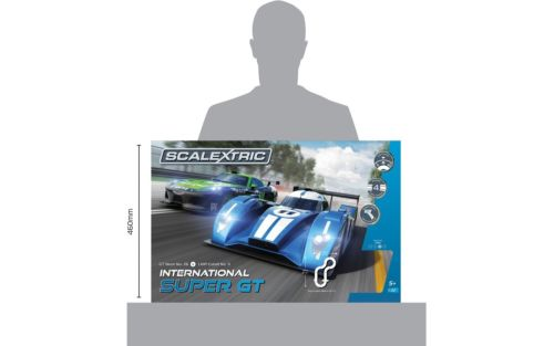 Scalextric International Super GT slot car race set C1369T
