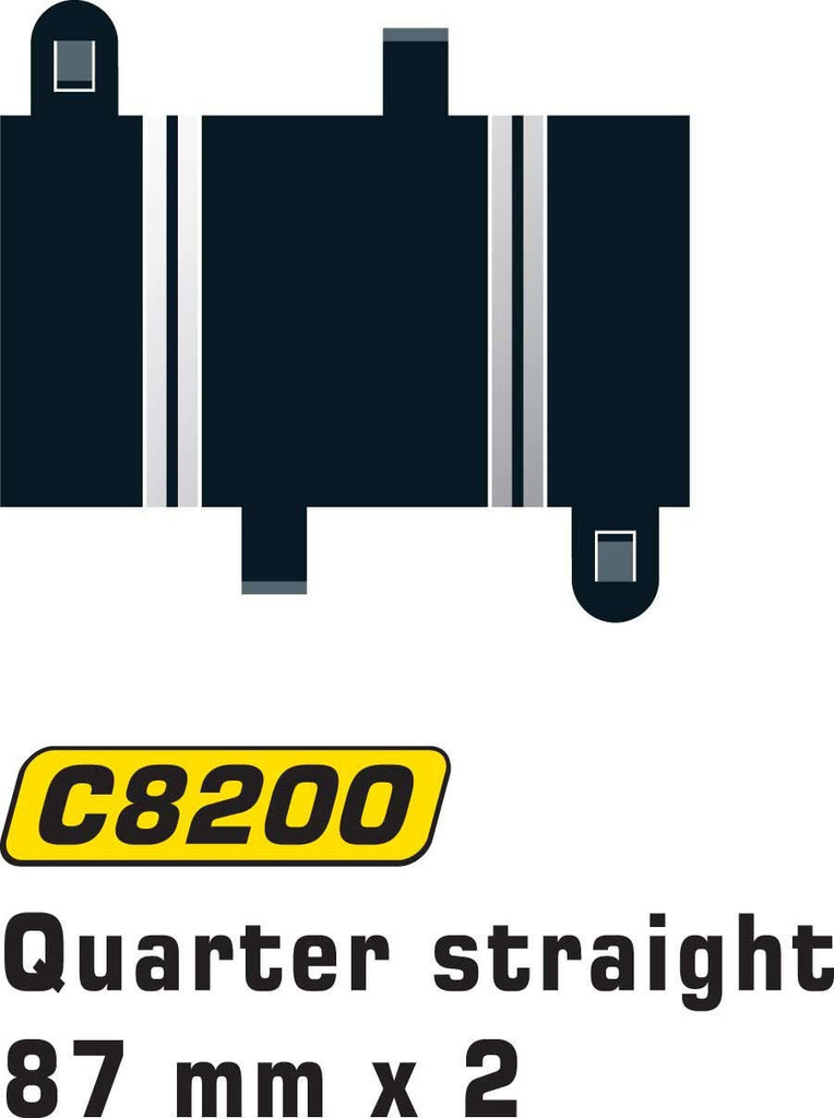 Straight Section 87mm - C8200