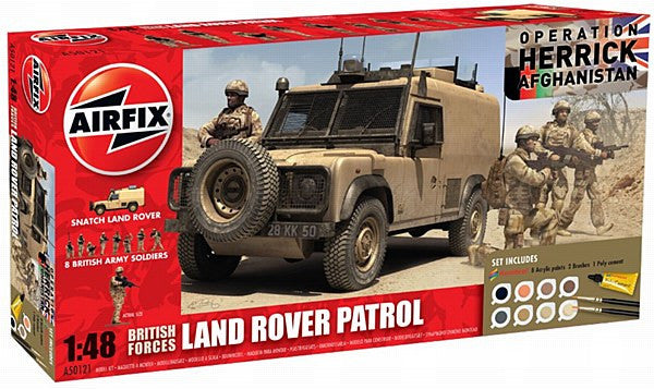 1:48 UK Forces Patrol Set - A50121