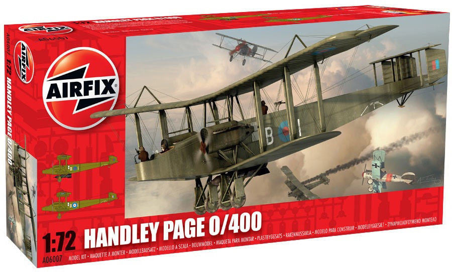 1:72 UK Handley Page 0/400 -  A06007