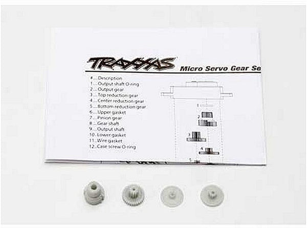 Gear Set for TRA2080 Micro