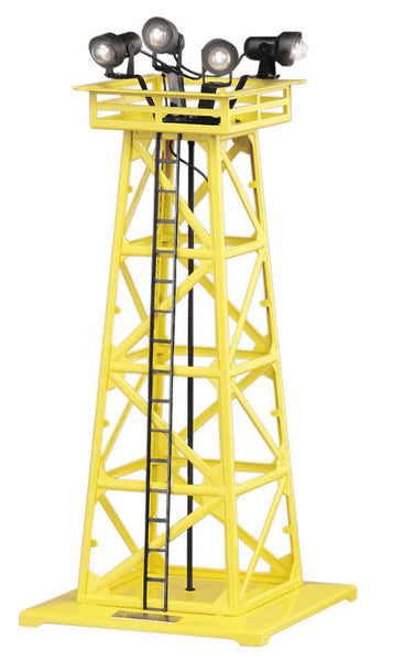 O #395 Floodlight Tower Yellow