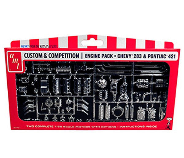 1/25 GM MOTORS PARTS PACK