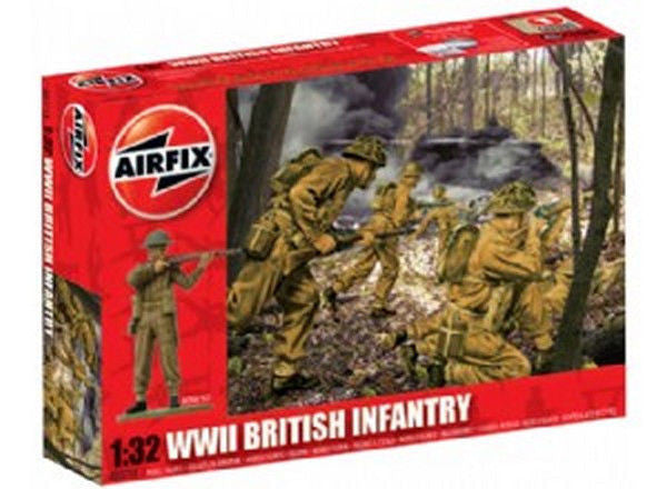 1:32 UK Infantry WWII   -  A02718
