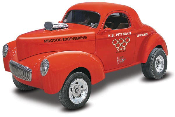 1:25 Willys Drag Coupe Pittman