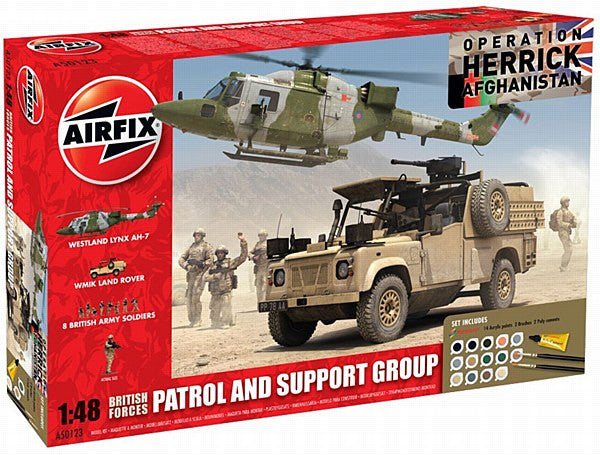 1:48 British Forces Patrol and Support Group Gift Set – A50123