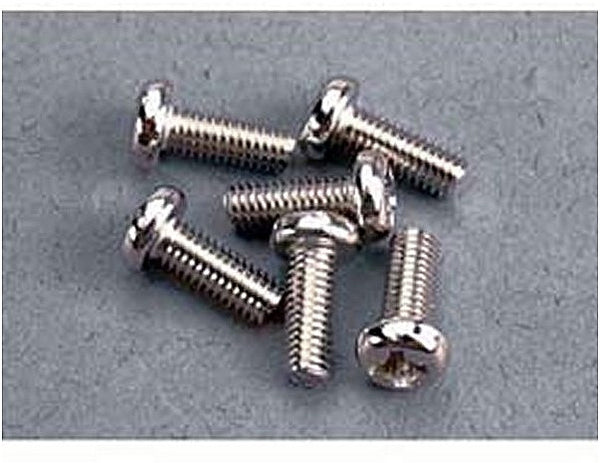3 x 8mm Roundhead screws