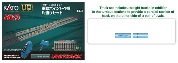 HO HV-3 Interchange Track Set