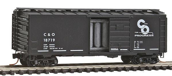 N 40' Single Door Boxcar C&O