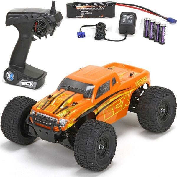 1/18 Ruckus 4WD Monster Truck Orange RTR