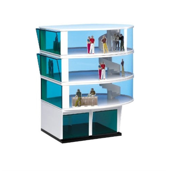 Carrera 3 Story Press Tower Building Kit w/ Double Garage 21102
