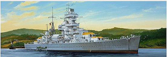 1:350 GER Hipper Heavy Cruiser