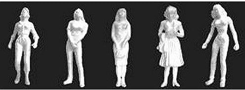 1:24 Female Figures