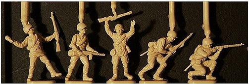 1:72 USSR WWII Infantry