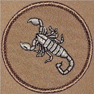 Scorpion Patrol Patch