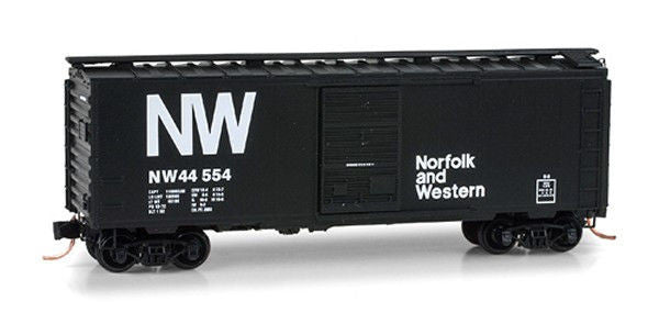 N 40' Single Door Boxcar N&W