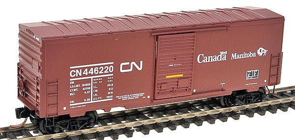 N 40' Single Door Boxcar CN