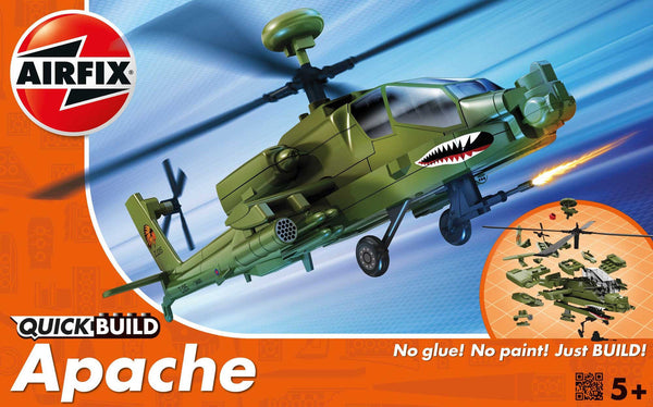 Airfix QUICK BUILD Apache Helicopter -  J6004