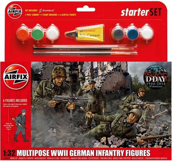 1:32 GER Infantry Set -  A55210