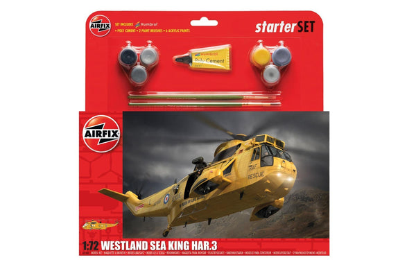 1:72 Westland Sea King HAR.3 Starter Set - A55307